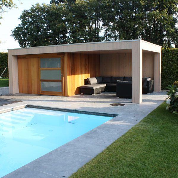 Poolhouse référence : woodstar poolhouse Monaco