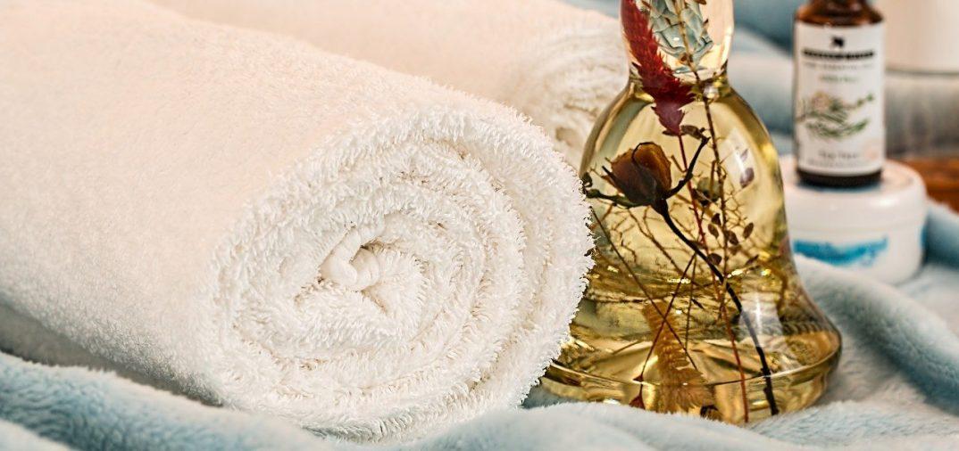 serviettes pour spa